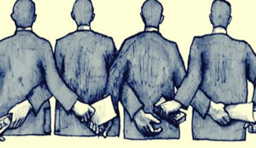 La corruption commence avec des personnes anonymes