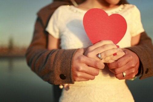 couple et amour romantique