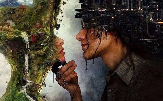 couple fondé sur une illusion
