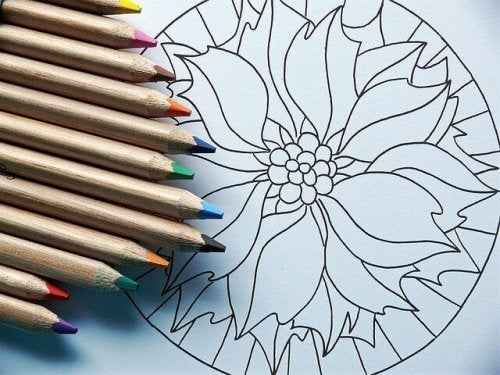 le coloriage est une activité d'art-thérapie