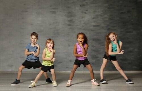 art-thérapie et danse chez les enfants