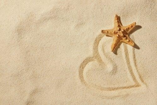 dessin dans le sable pour l'art-thérapie