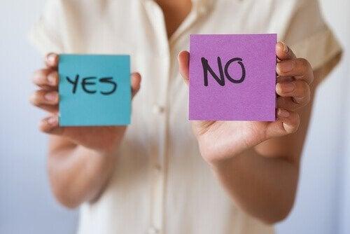 Apprenez à dire non