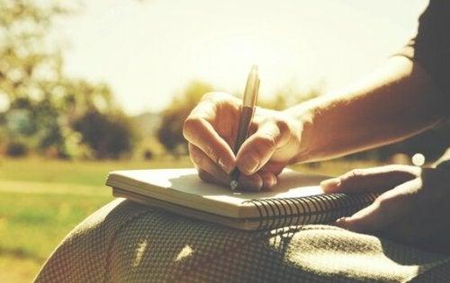 écriture pour améliorer la communication dans un couple