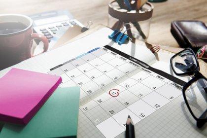 avoir un planning pour éviter le stress académique