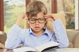 devoirs chez l'enfant