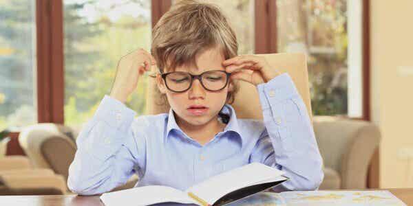 Les devoirs chez l'enfant