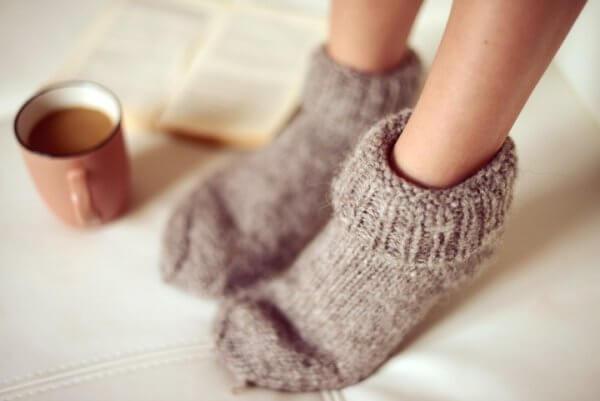 les pieds froids font partie des symptômes de l'anxiété