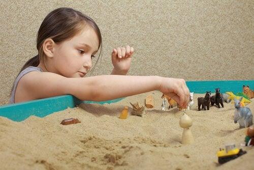 technique du bac à sable chez l'enfant