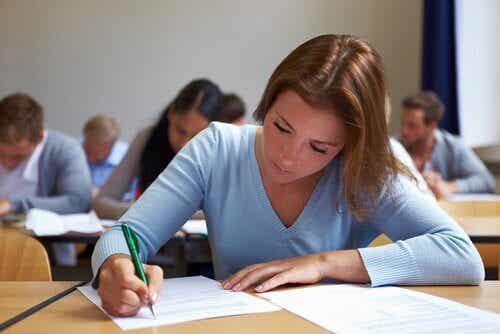 Passer un examen : préparation psychologique