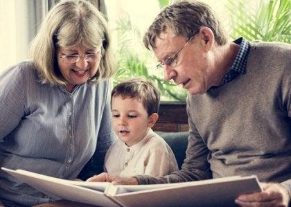 rôle des grands-parents dans la famille