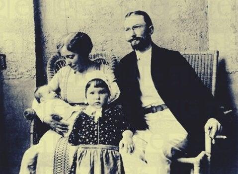 Karen Horney et sa famille
