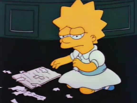 Lisa Simpson et la résistance