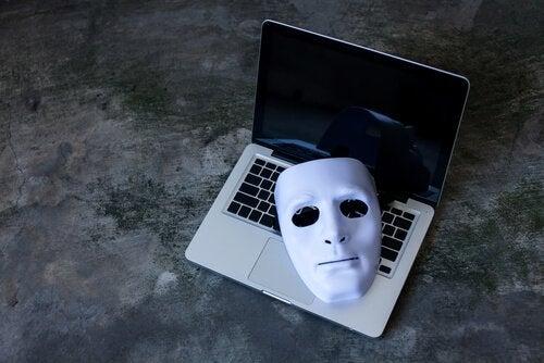 masque sur un pc