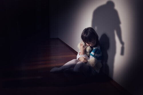 petite fille qui a peur