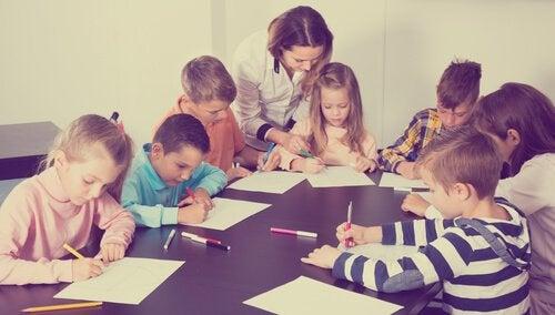 contrôle en classe et apprentissage