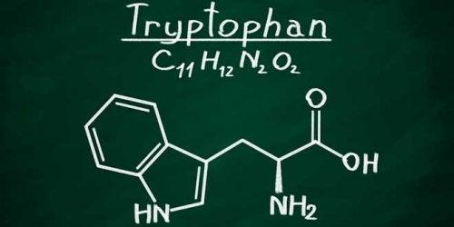 formule du tryptophane