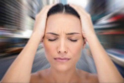 l'anxiété provoque des vertiges