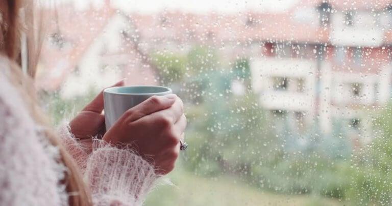 le son de la pluie et son effet calmant et sécurisant
