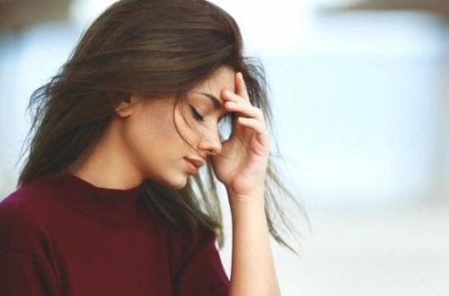 somatisation des émotions chez une femme dépendante