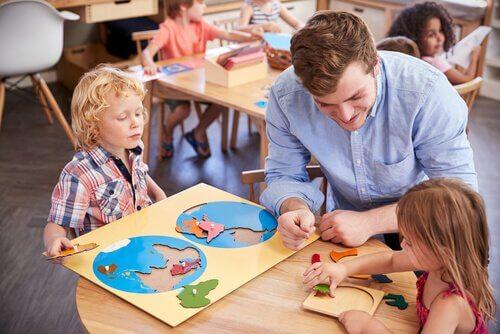 la méthode Maria Montessori et l'ordre