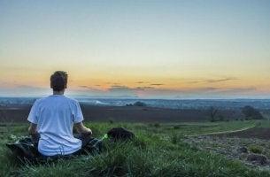 homme qui medite