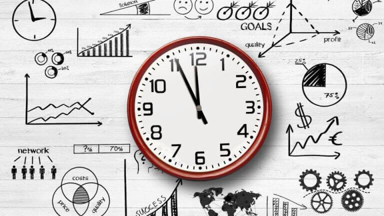 horloge dynamique