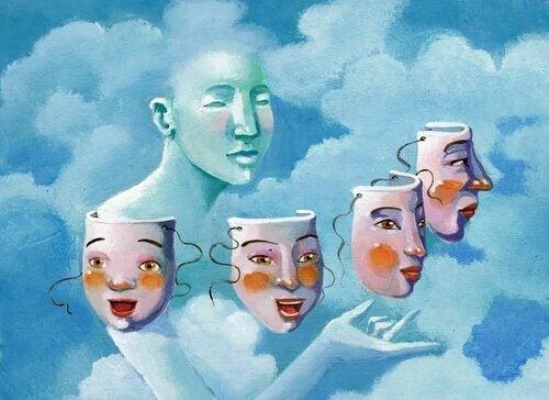 masques prouvant les réalités qui vous enferment