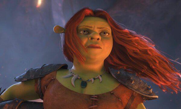 Princesse Fiona est sa propre héroïne