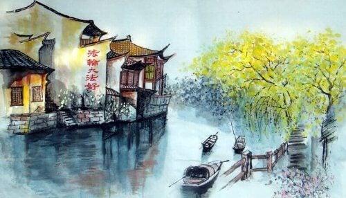 Traversez la rivière, une vieille histoire zen