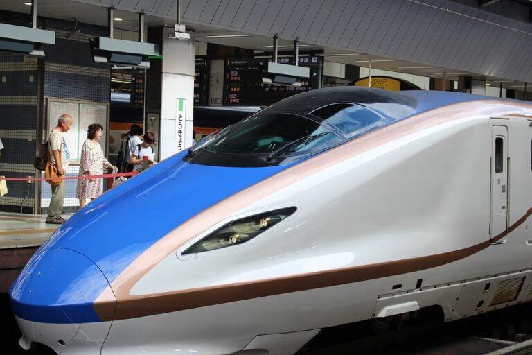 train grande vitesse au japon