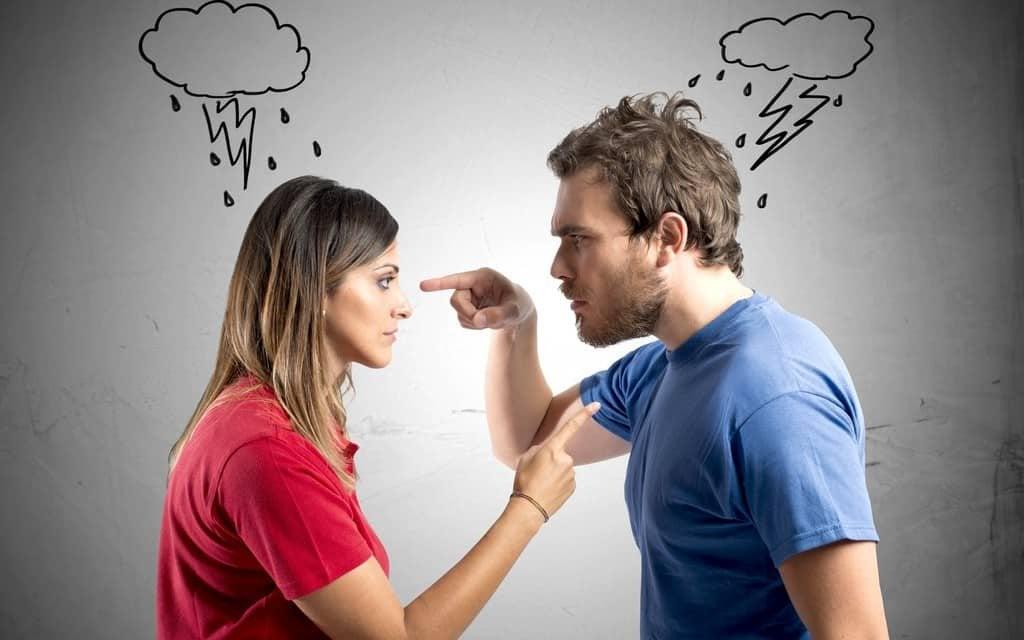 disputes et mentalité agressive