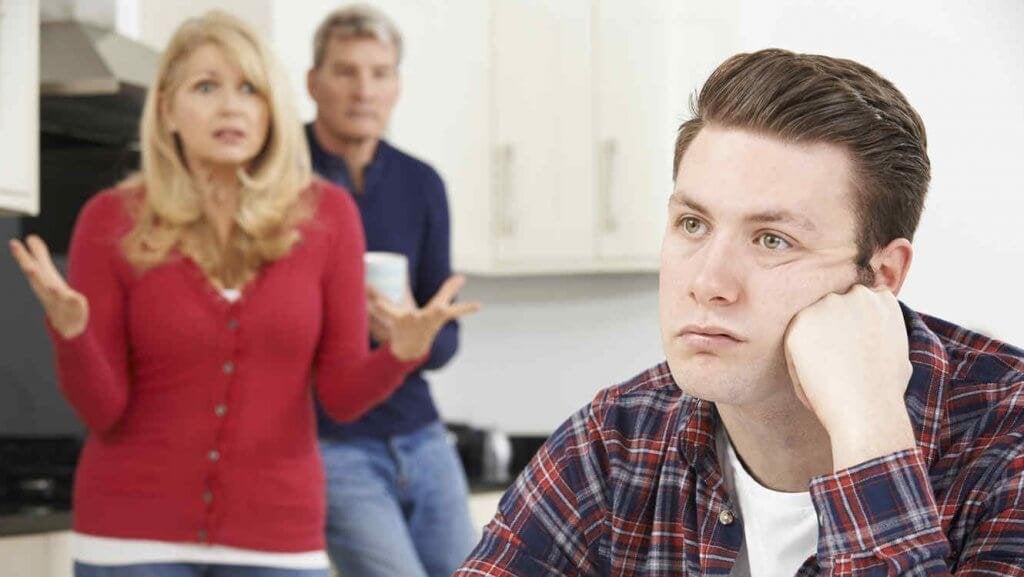 dépendance économique parents/enfant