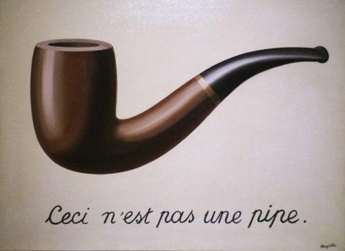 la fonction sémiotique et la pipe de magritte