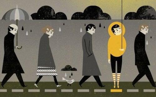 5 différences entre tristesse et dépression