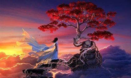 Sakura, une légende japonaise sur l'amour véritable