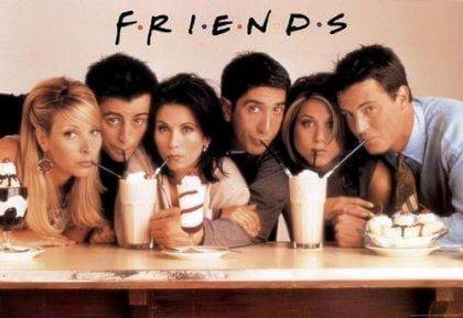 les personnages de friends