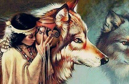 La jeune femme et les loups, une belle légende Dakota