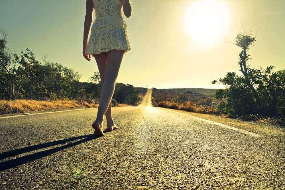 je vais suivre mon propre chemin et je vais voler