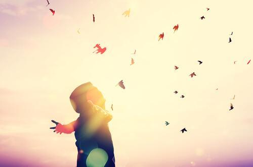 je vais donner vie au changement et je vais voler