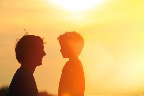 la relation père et fils et la désintégration familiale