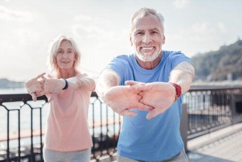 faire de l'exercice physique favorise le vieillissement sain