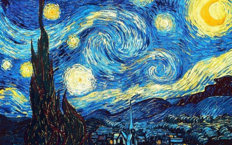la nuit étoilée de Vincent van Gogh