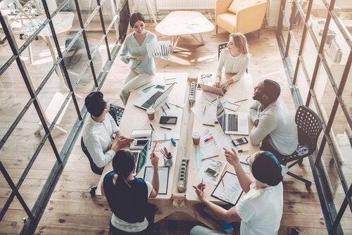 environnement de travail et collègues