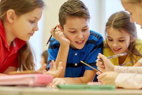 le travail coopératif structuré à l'école