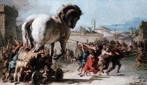 mythologie grecque : guerre de Troie