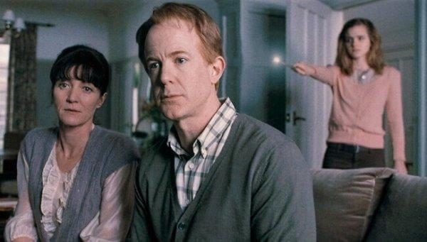les parents d'hermione granger