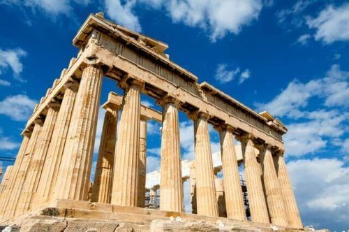 temple grec et hérodote