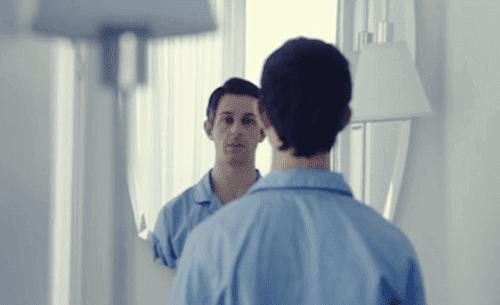thérapie d'exposition au miroir