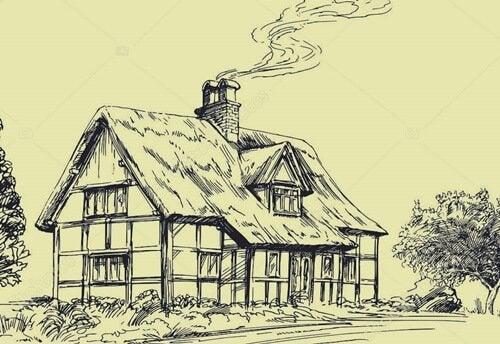 maison dans la campagne